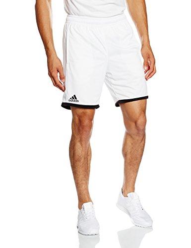 adidas Herren Shorts Court T, Weiß/Schwarz, M, 4055344371602 (Adidas Schwarzes Tennis-tasche)