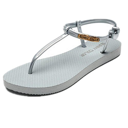New sandales dames pieds en sandwich anti-dérapant chaussures de plage 2