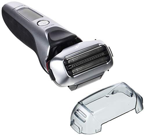 Panasonic ES-LT2N-S803 Afeitadora Eléctrica para Hombre/ Máquina de Afeitar de Láminas para Barba, Recargable e Inalámbrica, Fabricada en Japón (3 Cuchillas, Motor Lineal con Sensor de Barba, Wet&Dry)