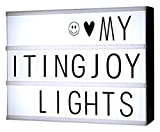 SmartlightJoy Free Combination Film Light Box with Letters & LED ligh
