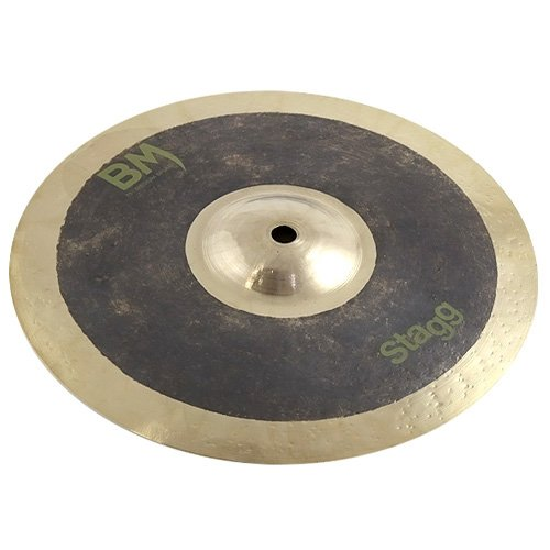 Stagg 25014257 BM-SM11 Metal Splash Cymbal 27,94 cm (11 Zoll) Medium schwarz