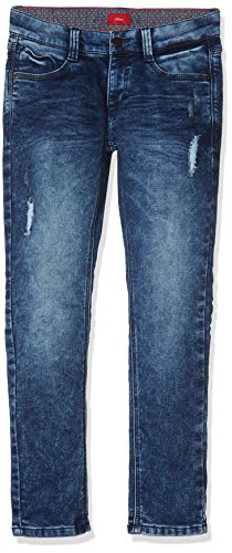 s.Oliver Jungen Jeans 61.709.71.3003, Blau (Blue Denim Stretch 56Z6), 152 (Herstellergröße: 152/BIG)