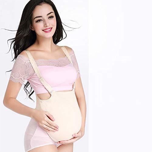 Eine Kostüm Schwangere Einfach Frau - Close2you Schwangerschafts-Bierbauch-Foto-Schauspieler-Showstützen Der Schwangeren Frau Der Gefälschten Bauchsimulation des Silikons,Velcro(2to4months)