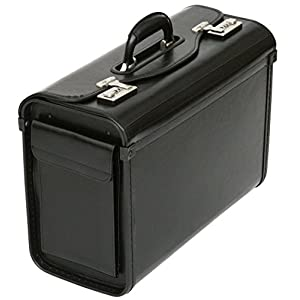 Pilotenkoffer aus Lederfaserstoff - für Business & Reisen - Handgepäckgröße