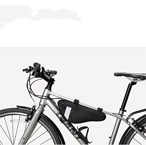 ZZXCV Mountainbike-Tasche Triangle Bag Beam Bag Auf Der Röhre Tasche Reitausrüstung Mountain Road Bike Bag Radfahren Wesentliche Fahrradzubehör (Triangle Road Bag Bike)
