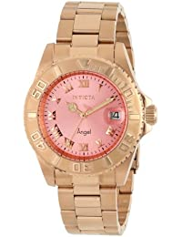 Invicta Analog Mother of Pearl Dial Women's Watch - 14369