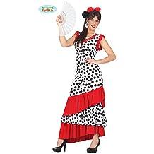 Disfraz De Carnaval Para Fiesta Motera Flamenco Española Talla L