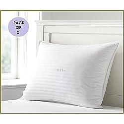 Urban Arts (Pack Of 2) Premium Pillows- 16 X 26 Inches- White