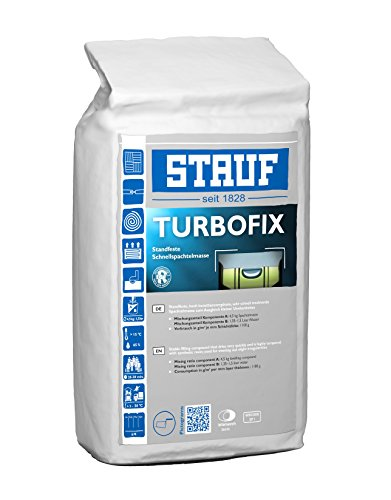Stauf 133250 Standfeste-Fein-Spachtelmasse Turbo Fix, 4,5kg