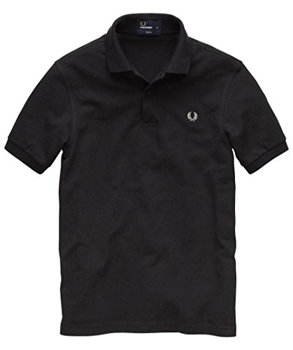 """Herren Poloshirt """"Slim Fit M6000"""" Schwarz"""