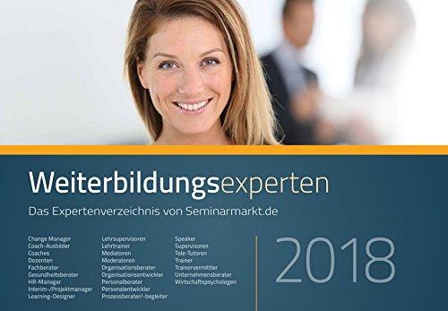 Weiterbildungsexperten 2018: Das Expertenverzeichnis von Seminarmarkt.de