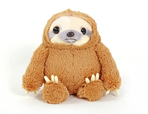YunNasi 50cm Cuddly Plush Sloth Animal Doll Toy Perfect Gift for Children Light Brown