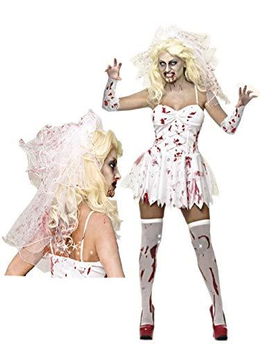 JRKJ Dunkle Braut Vampir Kostüm Dämon Show Uniform Erwachsener @ - Dämon Braut Kostüm