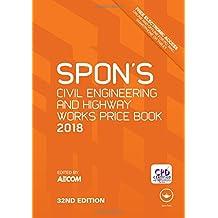 Spon's Civil Engineering and Highway Works Price Book 2018 (Spon's Price Books)
