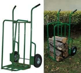 Ribiland - Chariot a buches en acier roues gonflables