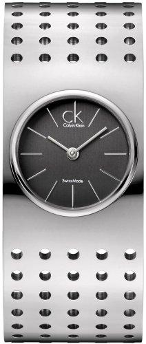 Calvin Klein Calvin Klein Oasis K8323107 - Orologio da polso da donna, cinturino in acciaio inox colore argento
