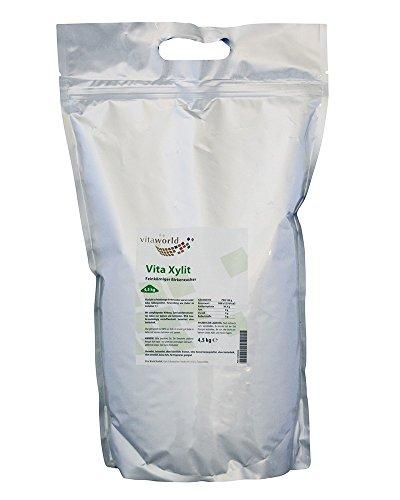 Vita World Xylit 25kg feinkörniger Birkenzucker Apotheken Herstellung -