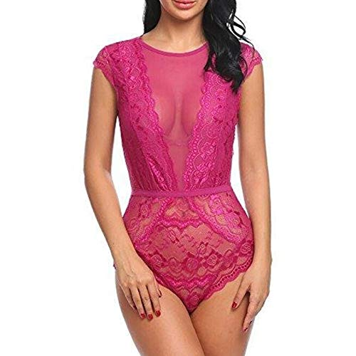 448cee171e Lingerie Completi Donna,Ginli Costume Sexy Lingerie Sexy Passion Lingerie  Deep V Halter Babydoll G