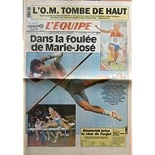 EQUIPE (L') N? 14093 du 29-08-1991 L'OM TOMBE DE HAUT - TOULON A REALISE L'EXPLOIT DE LA HUITIEME JOURNEE DE D I EN BATTANT L'OM 1-0DANS LA FOULEE DE MARIE-JOSE - SIEMERINK BRISE LE REVE DE FORGET - ET AUSSI AUTO - AVIRON - BASKET - BATEAUX - BOXE - CANOE-KAYAK - CYCLISME - EQUITATION - GOLF - HANDBALL - MOTO - NATATION - TELEVISION - VOLLEY-BALL - SPORTS EXPRESS - RUGBY - COUPE DU MONDE L'HEURE DU CHOI