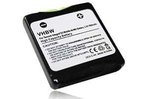 Batterie 600mAh pour Avaya Tenovis Integral D3 Mobile,DECT FC1,Funkwerk FC1, FC4, Detewe Openphone 24 etc remplace 4.999.046.235,4999046235,NTTQ49MAE6