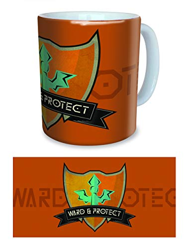 LTDH - Taza MOBA con diseño «Support TOB Ward & Protect»