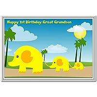 1st Birthday Cards Boys