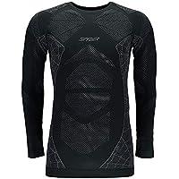 Spyder Captain Camiseta Térmica, Hombre, Negro, XXL/XXXL