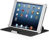 StilGut UltraSlim Case, Schutz-Hülle für Apple iPad mini mit Standfunktion. Dünnes Etui mit Smart-Cover und Aufstell-Funktion für iPad mini, iPad mini mit Retina Display & iPad mini 3, V2 - weiß