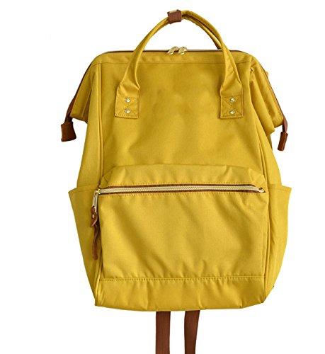 Yy.f Multicolore Nuove Zaini Moda Pop Oxford Stoffa Borse A Tracolla Borse Tromba Pratico Interno Yellow