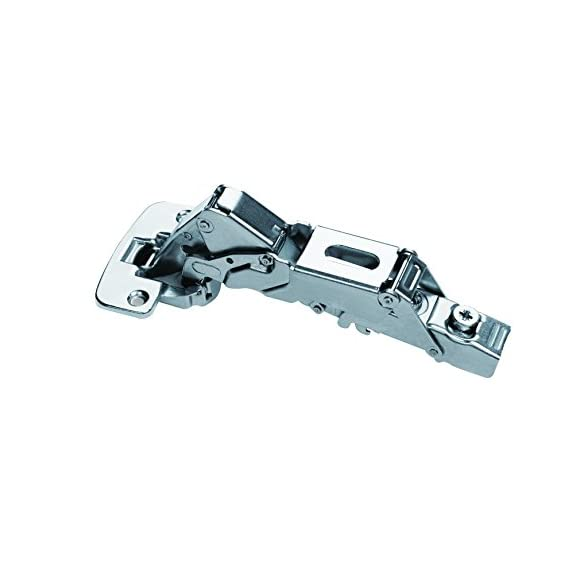 Concealed Auto Hinges Hydraulic Mechanism Silent Soft Closing 35mm Cup Diameter 48mm Hole Centre Opening Snap On Wide Arm 4 holes plate CLOSE WIDE ANGLE 155