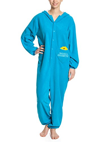 Sesame Street Cookie Monster Tuta blu S