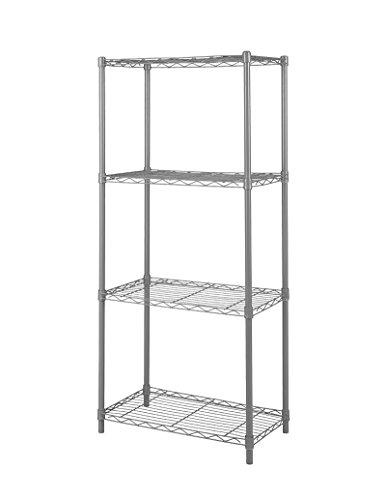 Home-Like 4-Tier Estantería almacenamiento rack alambre