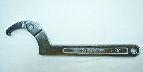 Bras réglable Clé à crochet simple Balancelle 5,1 cm -4.3/10,2 cm, 50–120 mm