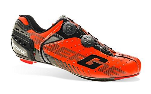Soul Rebel Cyclisme - GA Gaerne–Zapatos de ciclismo–3277–008G-Chrono CC naranja, Naranja (naranja), 46
