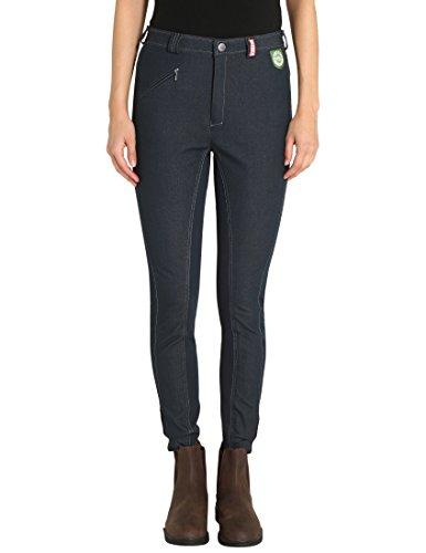 RTS Bentex Damen Reithose mit Vollbesatz, jeans-dunkel, 80, 1003-169-80