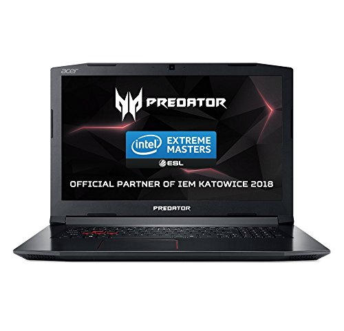 "Acer Predator Helios 300 G3-572 - Ordenador portátil 15.6"" FHD IPS (Intel Core i7-7700HQ, 16 de GB RAM, HDD de 1 TB y 128 GB SSD, Nvidia Geforce GTX1060 de 6 GB, Windows 10 Home) negro"