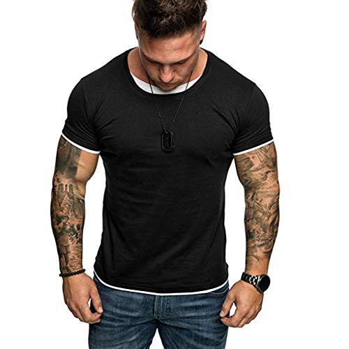 T Shirts Herren Cut Off Tank Top Sweatshirt Dünn Hemd Slim Fit Langarm Unterhemden Poloshirt Hilfiger Schwarzer Hoodie Kapuzenpullover Weed Pulli