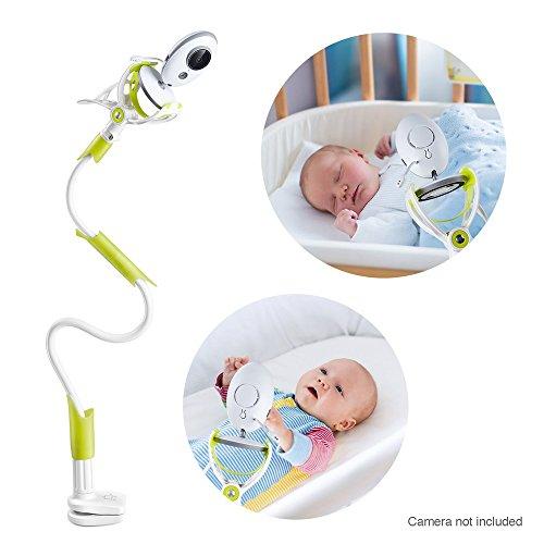 Universal Baby Kamera Halterung - Joseche Baby Monitor Halter, Infant Video Monitor Halter und Regal - Flexible Kamera Ständer für Kinderzimmer Kompatibel mit den meisten Baby-Monitore. (Grün)