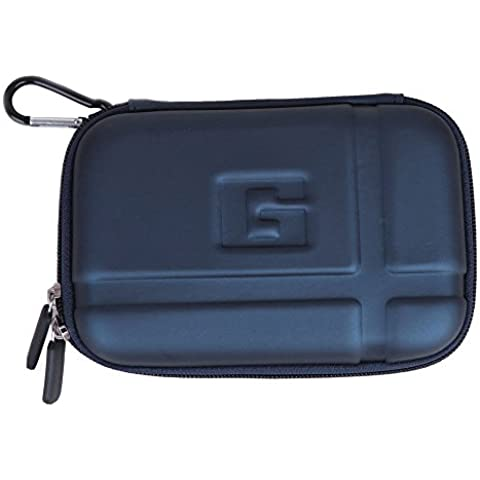niceeshop(TM)Azul Profundo PU EVA Universal Duro Caso para Cubrir 5,2 Pulgadas TomTom Garmin GPS
