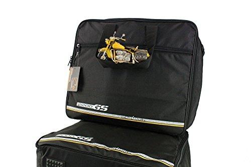made4bikers Promotion: Borse interne per valigie moto adatte per modelli BMW R1200GS-LC (K51) dal 2014 (R1200 GS LC) - per valigie in alluminio