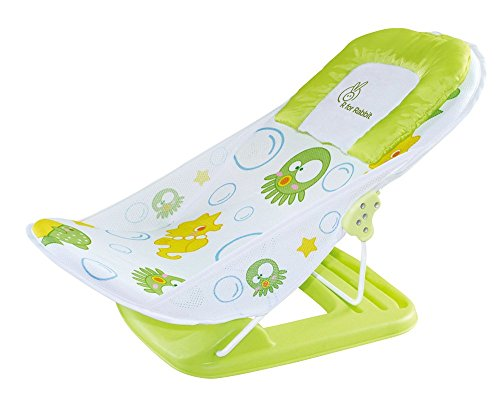 R for Rabbit Squiddly Diddly - The Bubbly Baby Bather - New (Green)