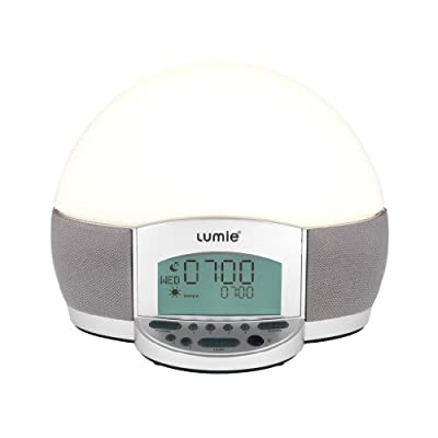 Lumie Bodyclock ELITE 300 Wake-up Light Alarm Clock with Full Suite of Wake/Sleep Audio Features