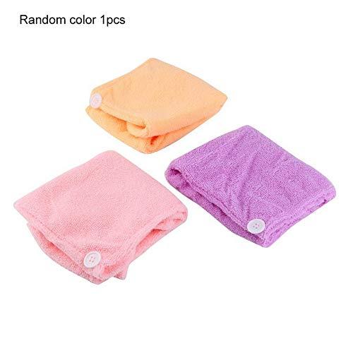 Scopri offerta per SEN Asciugamano Avvolgente in Microfibra Asciugacapelli Avvolgente Asciugamano rapido Cappellino per Capelli Colore Turbante Casuale