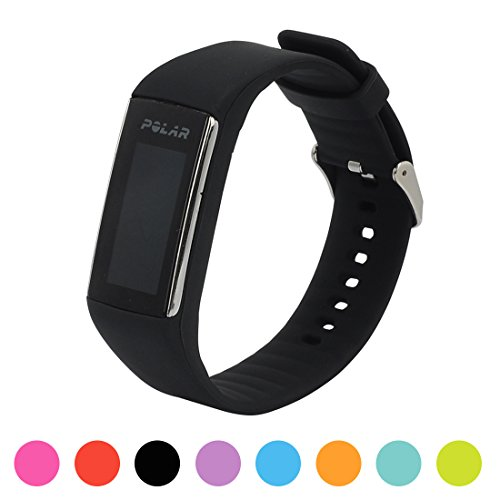 Für Polar Fitnesstracker A360 Smart Watch Ersatz Uhrenarmband - iFeeker Soft Silikon Gummi Uhrenarmband Armband Tasche für Polar Fitnesstracker A360 Smart Watch (Nur Band, Kein - Gummi-band-größen