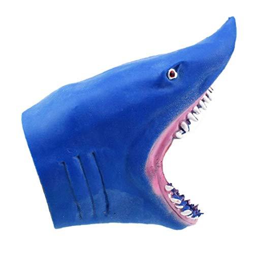 Tiburón marioneta mano impresionante realista mandíbulas