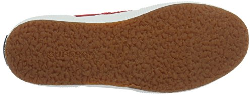 Superga Unisex-Erwachsene 2750 Cotu Classic Low-Top Rot (Red-White)