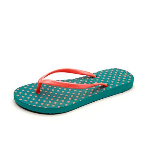 Santals de dames/sandales plates/Mme plage pantoufles A