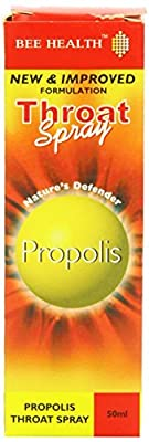 Propolis Throat Spray (50ml) x 3 Pack Saver Deal by BEE HEALTH