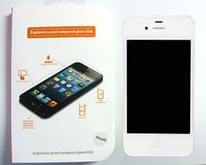 iPhone 4/4S film protecteur d'écran en verre trempé anti-explosion