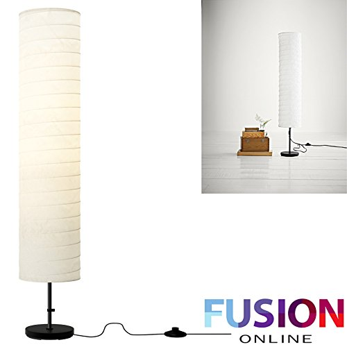 IKEA FLOOR LAMP RICE PAPER SHADE SOFT MOOD LIGHT STYLISH BRAND NEW UK HOLMO Fusion (TM)
